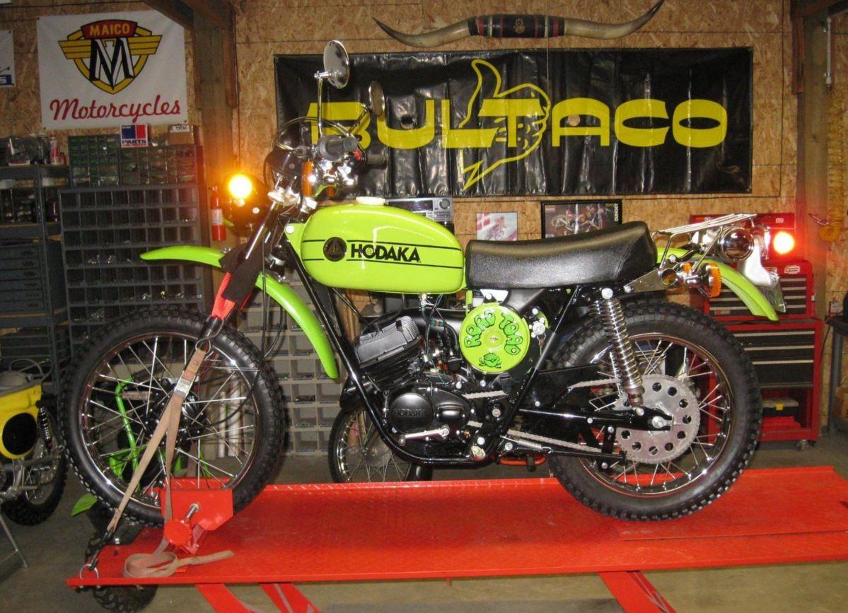 1974 Hodaka Road Toad   Bike-urious