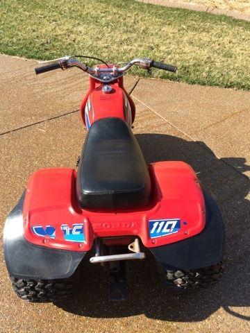 Honda ATC 110 - Top