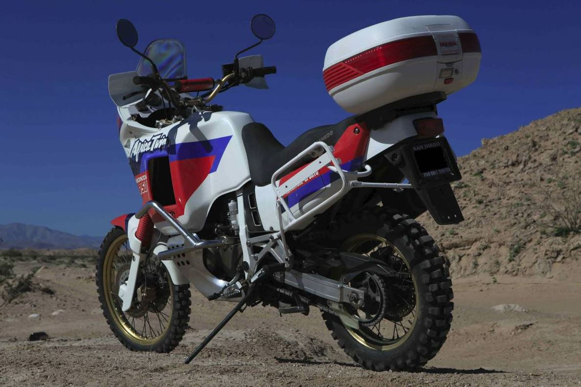 Rare in the US - 1991 Honda XRV750 Africa Twin