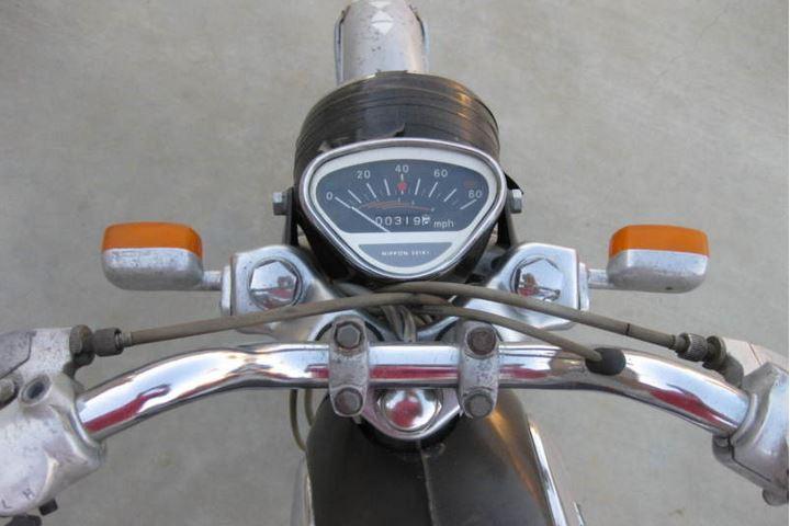 Honda Benly 90 - Gauges