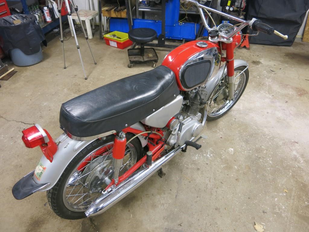 In Canada - 1965 Honda CB160