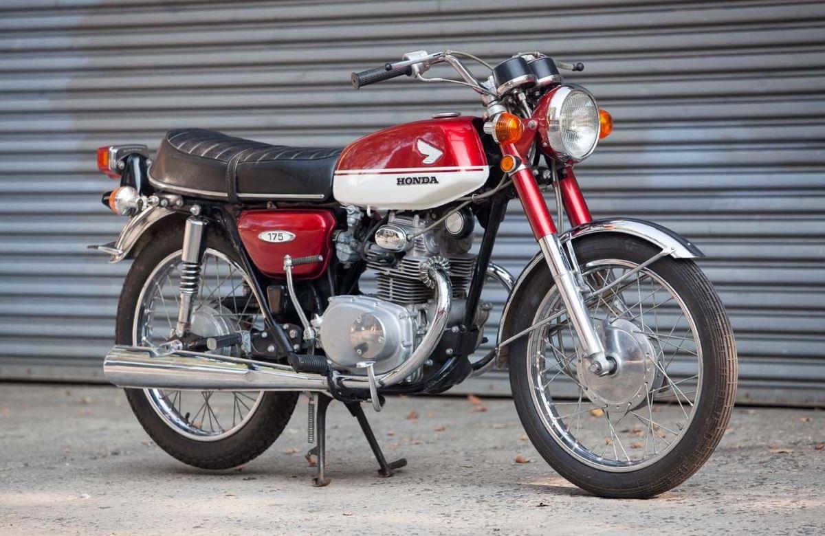3 Kilometers 1970 Honda Cb175 Bike Urious