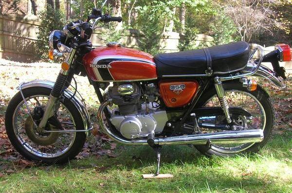 Honda CB350 - Left Side