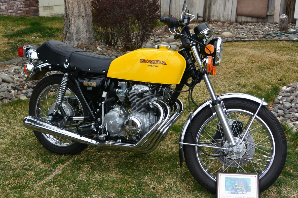 1976 Honda Cb400f Super Sport Bike Urious