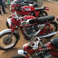 Red Dragon Tribute - 1966 Honda CB450