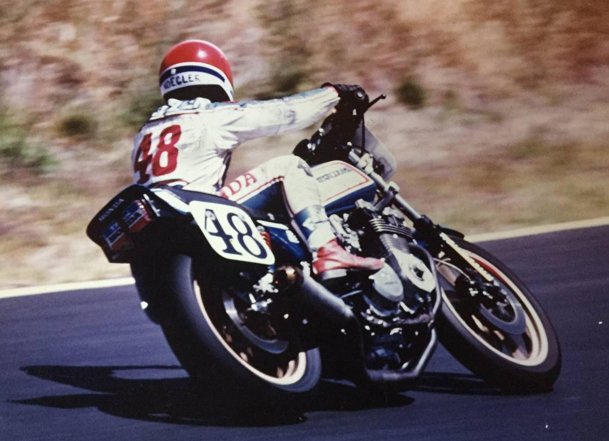 Ex-AMA Superbike – 1980 Honda CB750 – Bike-urious