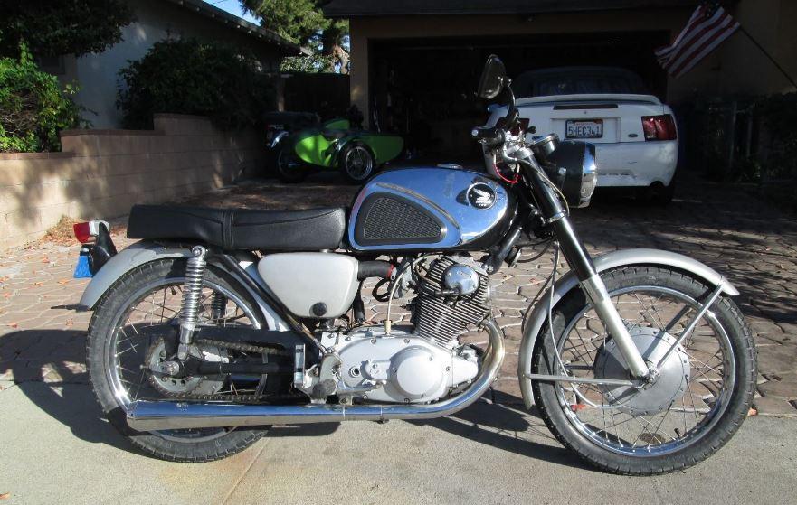 e3ad9b27dfb 1963 Honda CB77 Superhawk – Bike-urious