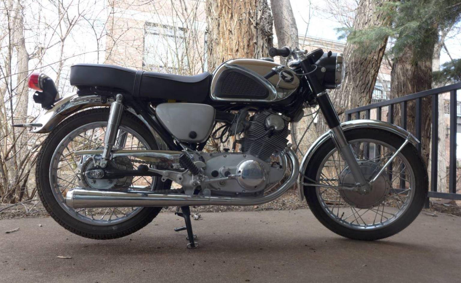 15b9f1d2bd7 Restored – 1967 Honda CB77 Superhawk 305 – Bike-urious