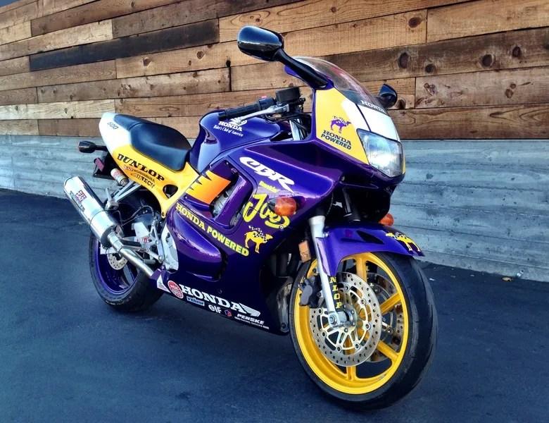 Honda Cbr 600 For Sale >> 1998 Honda CBR600 F3 Smokin' Joe's Replica – Bike-urious