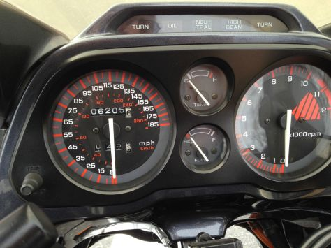 Honda CBR1000F Hurricane - Gauges