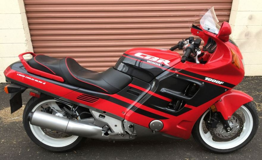 Hurricane – 1991 Honda CBR1000F | Bike-urious