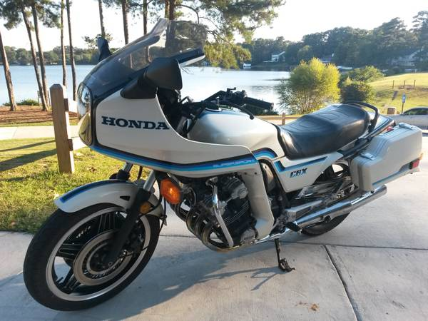 Honda CBX 1000 - Left Side