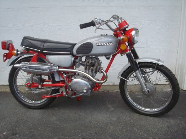 1974 Honda CL125 Scrambler – Bike-urious