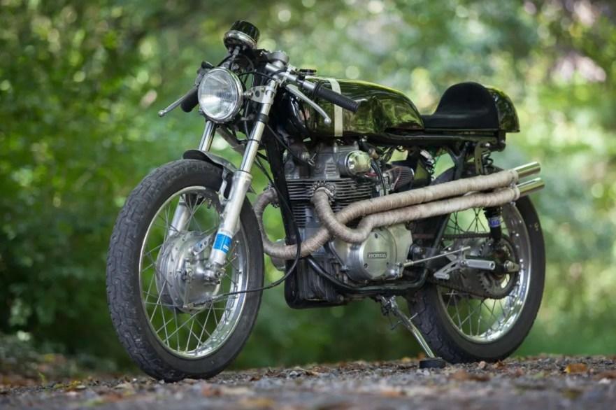 1972 Honda Cl350 Cafe Racer Bike Urious