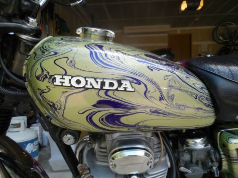 Honda CL350 Flying Dragon - Tank