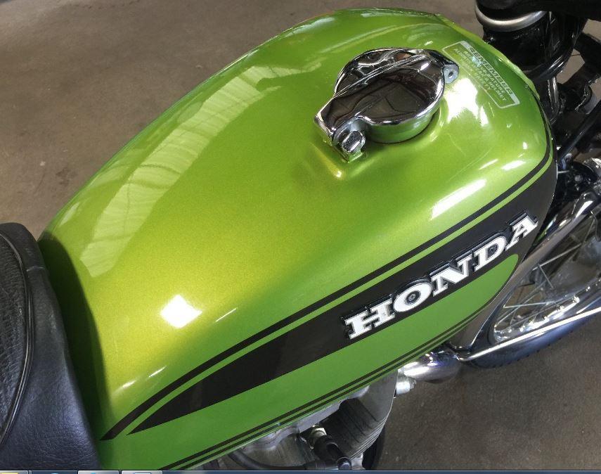 Honda CL360 - Tank