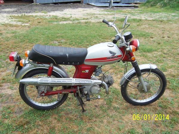 Little Honda – 1971 Honda CL70 – Bike-urious
