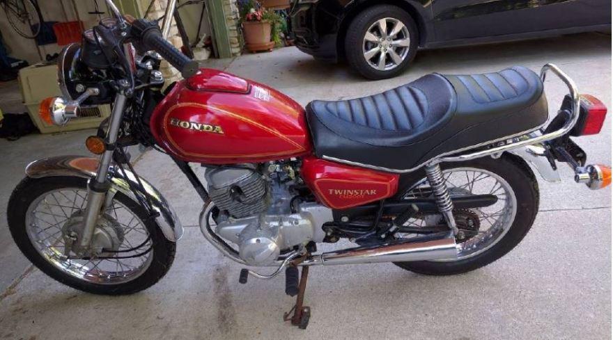 Twinstar  U2013 1981 Honda Cm200  U2013 Bike