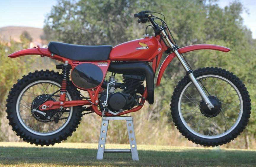 Never Started 1976 Honda CR250