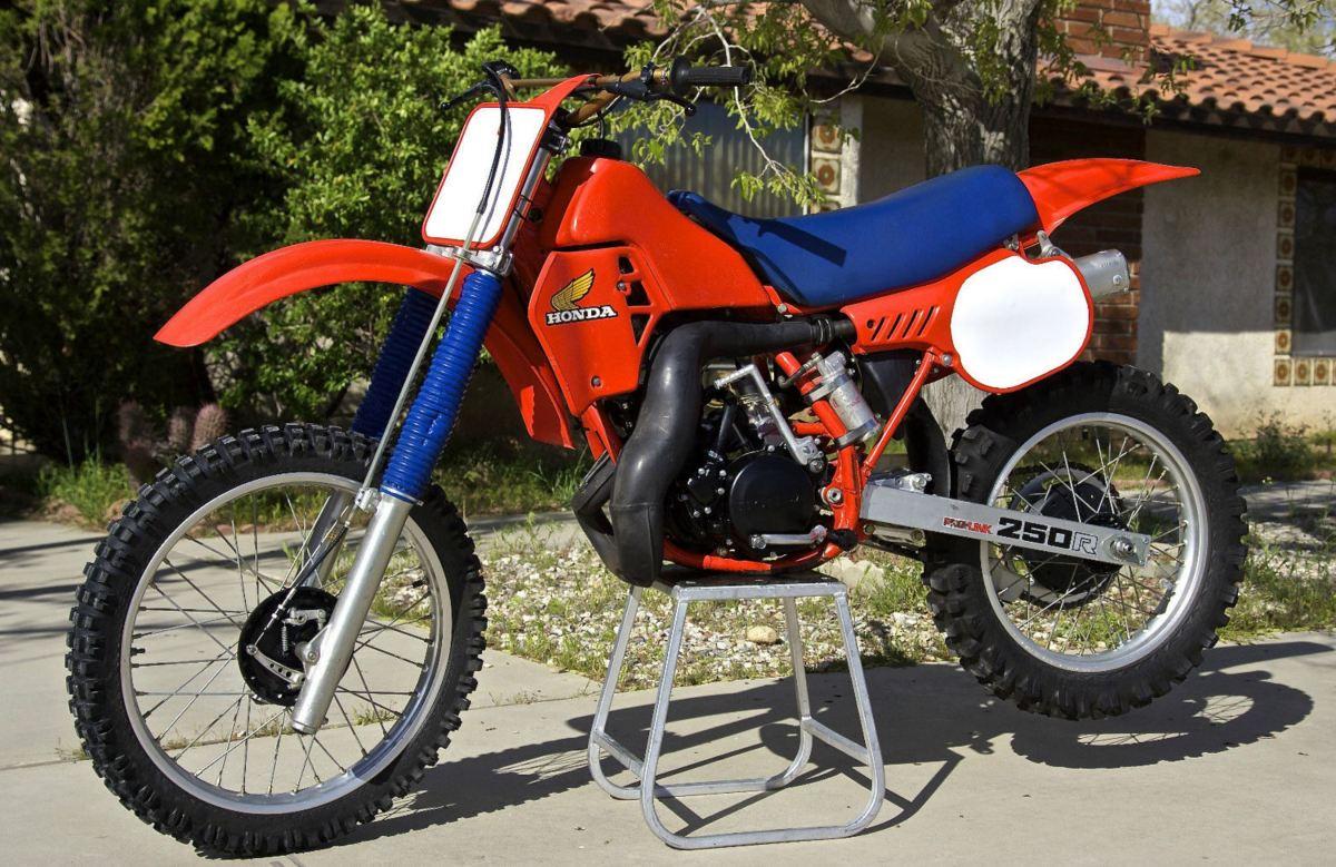 1983 Honda Cr250r Bike Urious