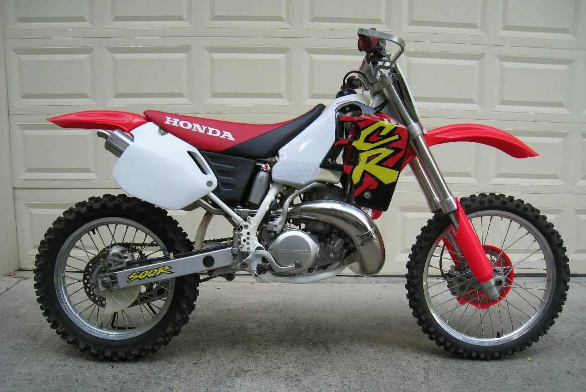 restored 1996 honda cr500 bike urious. Black Bedroom Furniture Sets. Home Design Ideas