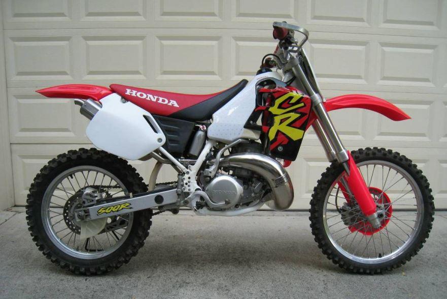 Restored 1996 honda cr500 bike urious for Honda cr 500