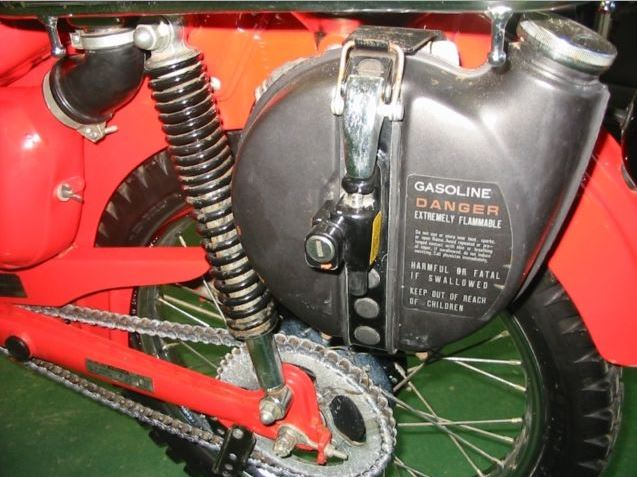 Honda CT110 - Extra Fuel
