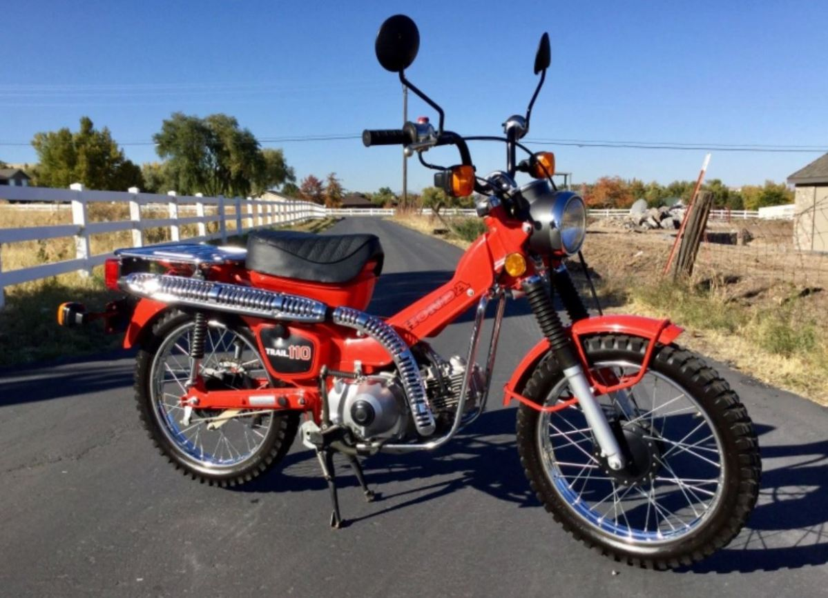 Ending Soon - 1981 Honda CT110 with 300 Miles