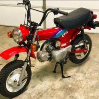 End of an Era - 1994 Honda CT70