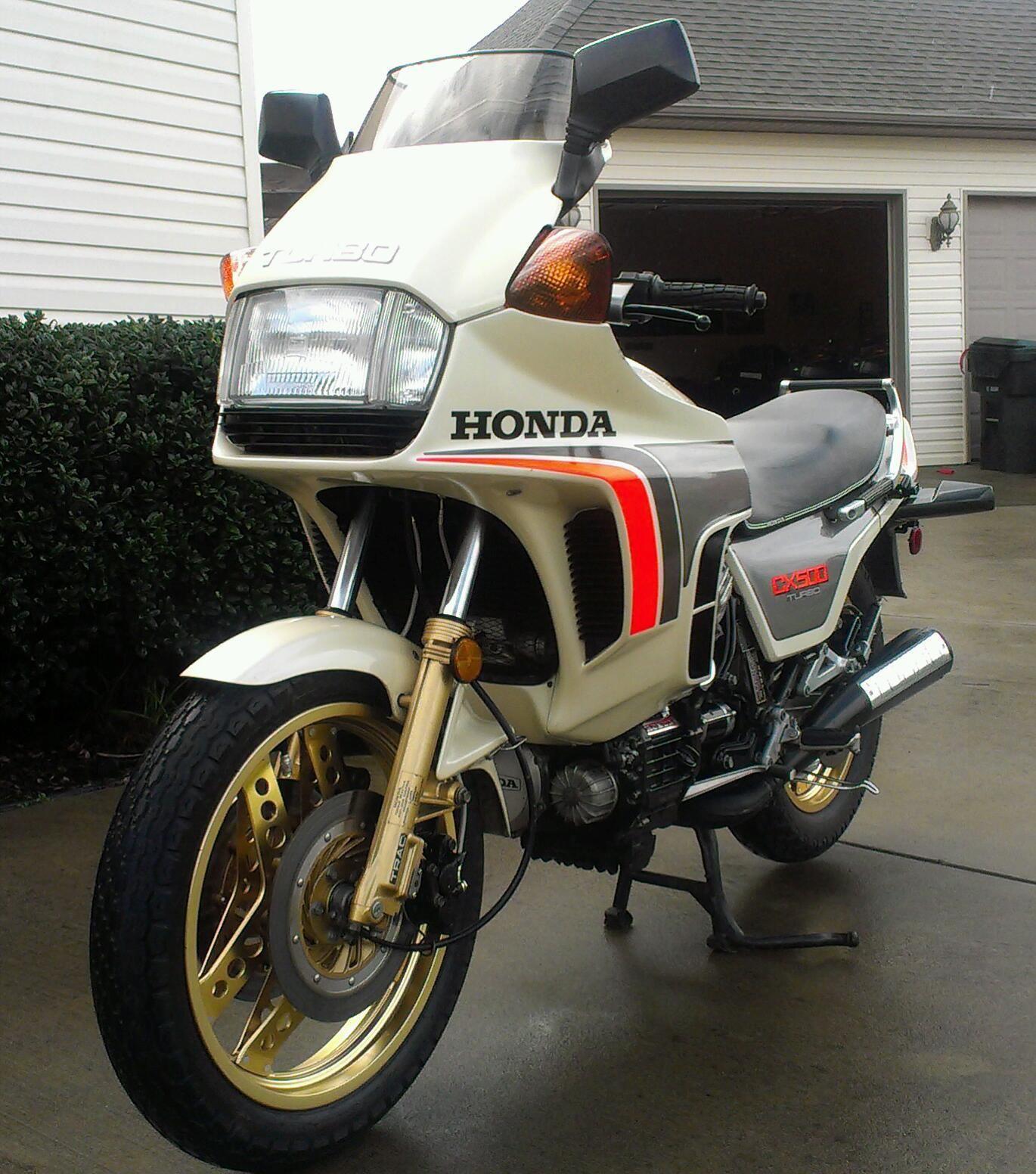 Turbo Bike Pic: 1982 Honda CX500 Turbo