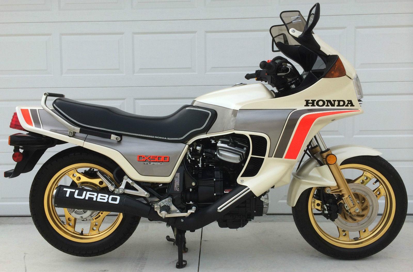 190 Miles 1982 Honda Cx500 Turbo Bike Urious