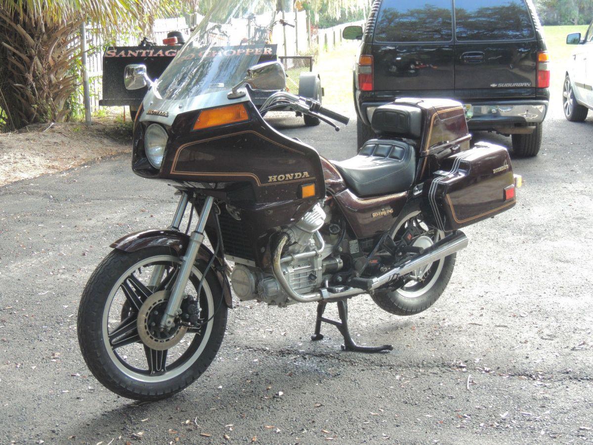 Silver Wing  U2013 1982 Honda Gl500 Interstate