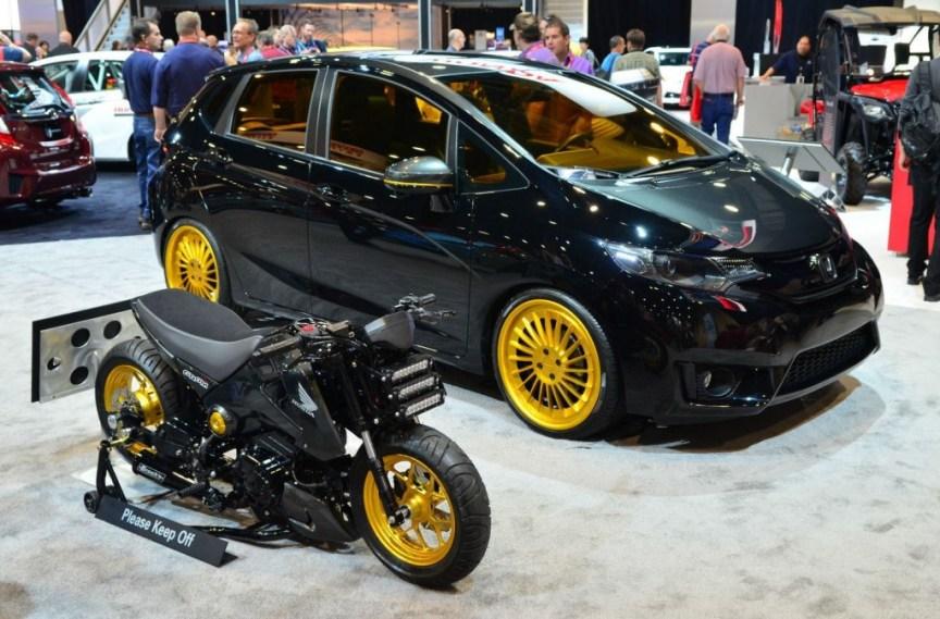 Honda Grom Custom - With Fit