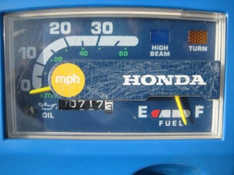 Honda Gyro - Gauges
