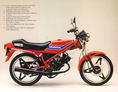 Honda MB5 - Brochure