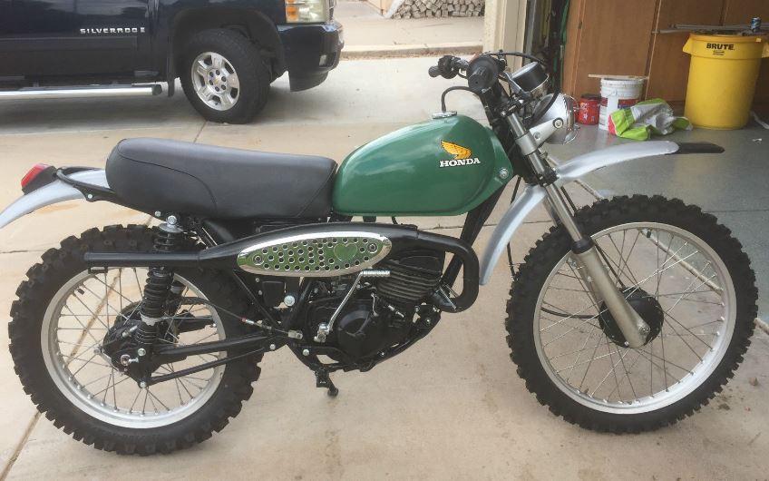 1975 Honda Mr175 Bike Urious