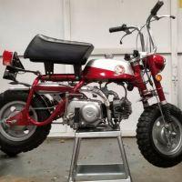 Restored - 1969 Honda Mini Trail
