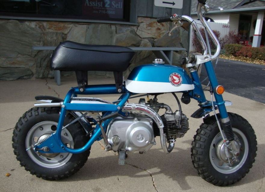 1969 honda z50 mini trail bike urious. Black Bedroom Furniture Sets. Home Design Ideas