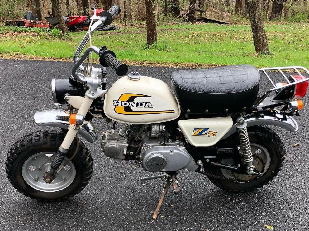 64 Miles 1974 Honda Monkey Z50j Bike Urious