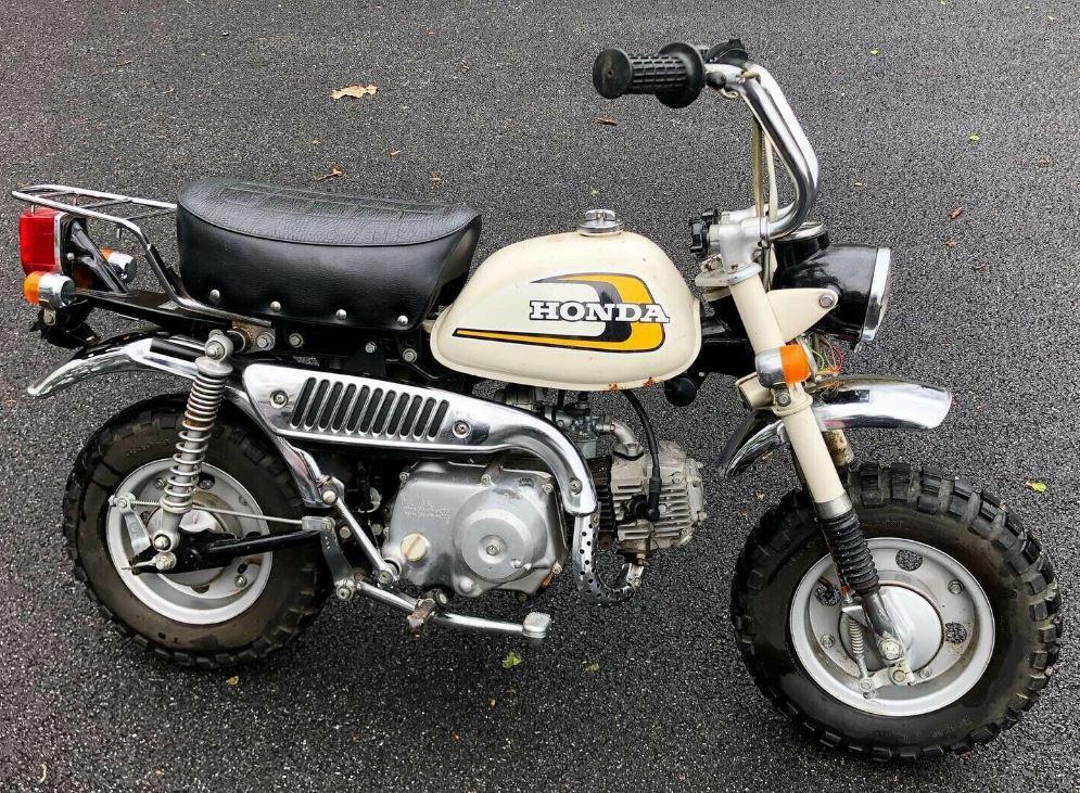 64 Miles – 1974 Honda Monkey Z50J