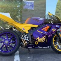 New Auction Bike - 1992 Honda VFR400 Smokin' Joe's Custom