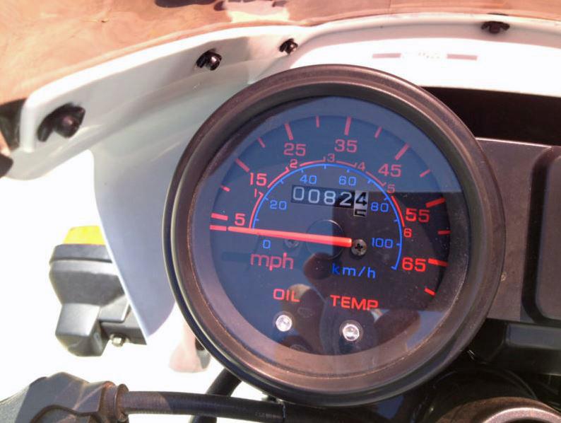 Honda NS50F - Speedometer