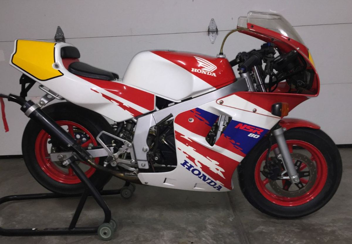 Rare in the US - 1993 Honda NSR80