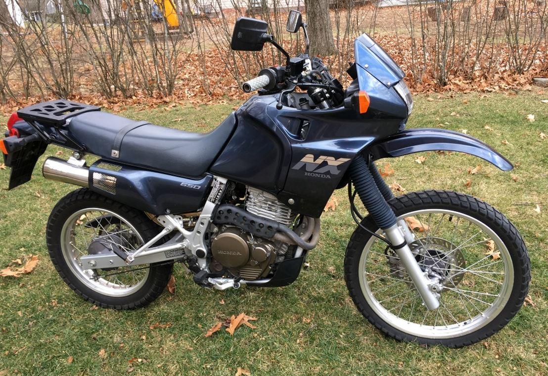 1989 Honda Nx650 Dominator