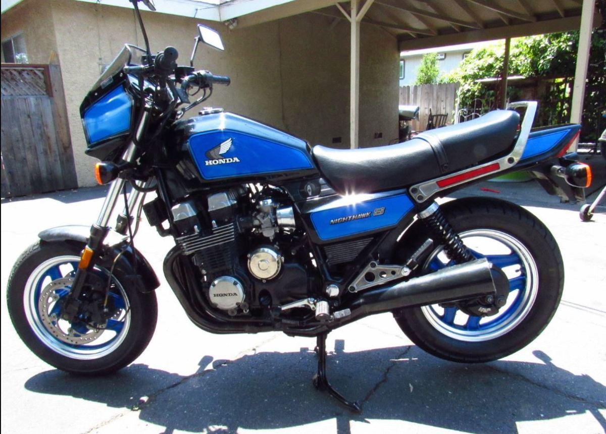 1984 Honda Nighthawk 700SC