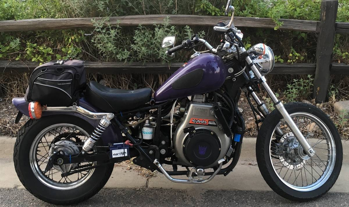 Diesel Conversion - 2006 Honda Rebel