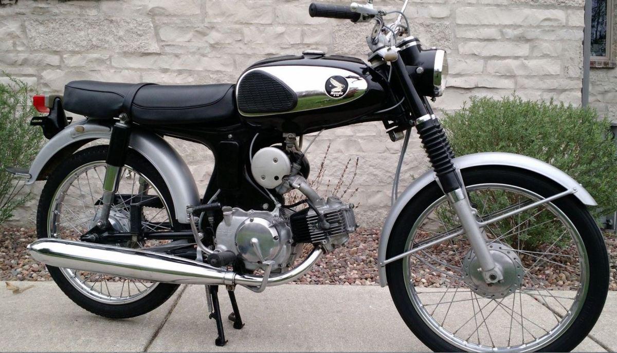 1965 Honda S90 Bike Urious