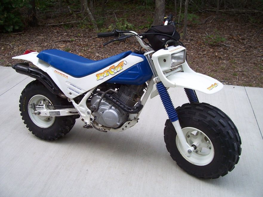1987 honda tr200 fat cat bike urious