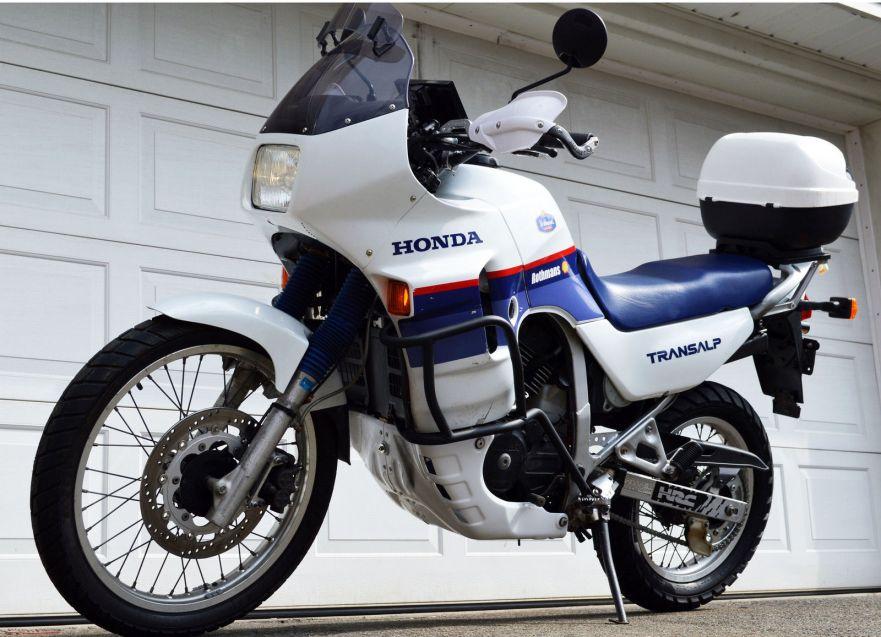 1989 Honda Transalp | Bike-urious