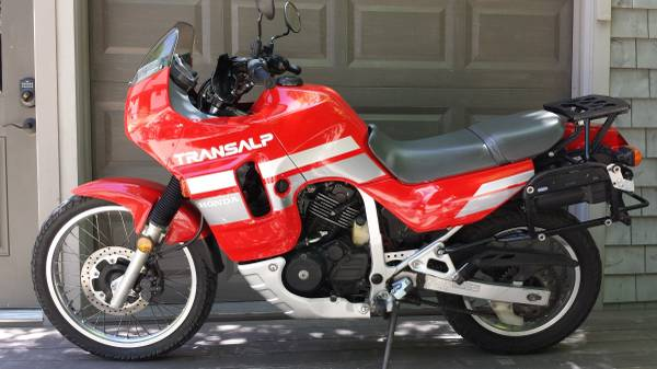 1990 Honda Xl600v Transalp Bike Urious